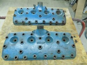 Ford Flathead 59 A B Iron Cylinder Heads 1 Pair