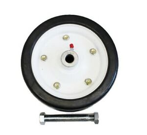 King Kutter Finish Mower Wheel 9 Solid Tire Fits All Models Part Number 502020