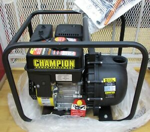 Champion Power Equipment 66526 2 In Gas Powered Chemical Water Transfer Pump