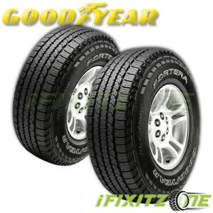 2 Goodyear Wrl Fortitude Ht Lt265 75r16 123r Performance Tires