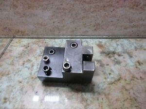 Miyano Jnc 60 Cnc Lathe Turret Block Holder Tool Holding 5j78 5101 In 5j785101in