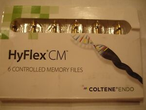 Coltene Hyflex Cm Endodontic Root Canal Rotary Files Size 04 40 25mm H8250440