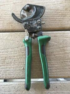 Greenlee 45206 Performance Ratchet Cable Cutter 10 1 2 Inch