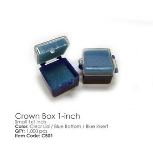 Dental Lab Crown Boxes For Your Crowns 1x1 Inches 1000 Pieces