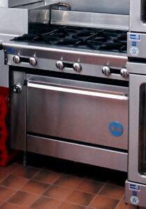 Us Range Co Commercial Six Burner Range With Standard Oven Model Pf 6 28 Nsf