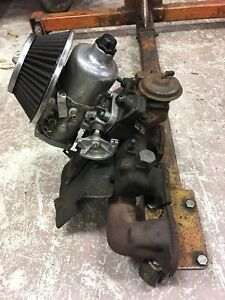 Mgb Single Carburettor On Later Storm Berg Intake exhaust Manifold