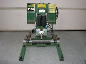 Mepla Mat 1500 Wood Working Hinge Boring Machine 220 Volt Ac 1 Phase