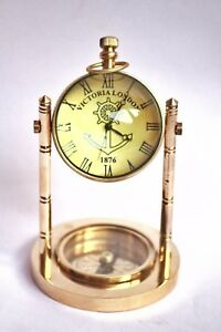 Beautiful Antique Tower Design Table Clock 5 Paper Weight Clock Table Clock