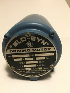 Superior Electric Slo syn Driving Motor Ss 400 1021 5 3v 3 4a Dc
