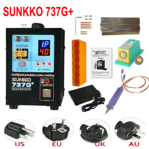 Sunkko 737g Spot Welder Solder Welding Machine For 18650 Batteries 220v 4 3kw