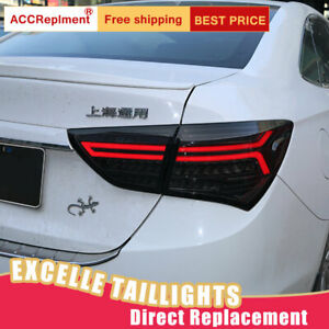 For Buick Excelle Xt Led Taillights Assembly Dark Red Led Rear Lamps 2015 2017