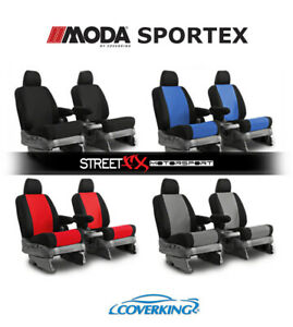 Coverking Moda Sportex Custom Seat Covers For Pontiac Fiero