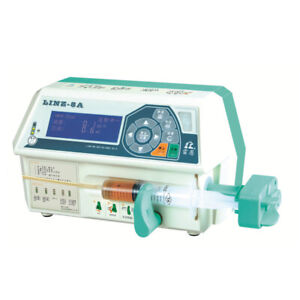 Linz 8a Single Channel Micro Injection Pump Medical Intravenous Infusion Pump Y