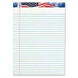 Tops American Pride Writing Pad Legal wide 8 1 2 X 11 3 4 Whi 025932751400