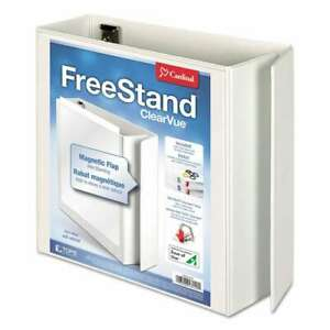 Cardinal Freestand Easy Open Locking Slant d Ring Binder 4 Cap 083086431401
