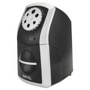 X acto Sharpx Performance Electric Pencil Sharpener Black silve 079946017724