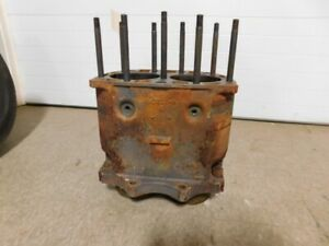 John Deere Styled A Tractor 045 Over Block A3703r 14056