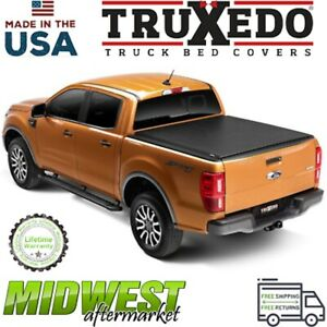 Truxedo Lo Pro Soft Cover Roll Up Tonneau Cover Fits 2019 Ford Ranger 6 Bed