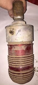 Crouse And Hinds Red Aviation Explosion Proof Light Vintage Steampunk Industrial