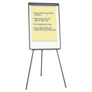 Universal Lightweight Tripod Style Dry Erase Easel 29 X 41 Whi 087547430323