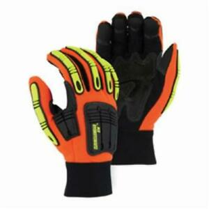 lot Of 3 Majestic Knucklehead X10 Work Gloves Tough Synthetic Leather Small S