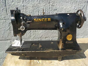 Industrial Sewing Machine Model Singer 111 W Walking Foot Light Leather