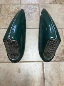 1936 Dodge Horn Covers Complete Perfect