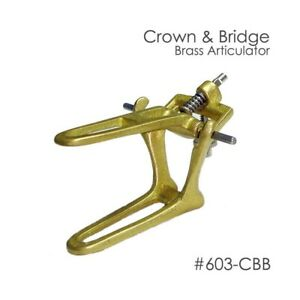 6pcs Dental Articulator Brass Articulator Crown Bridge
