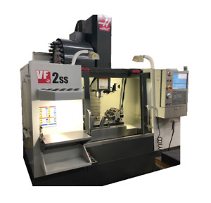 Haas Vf2ss Used Cnc Vertical Machining Center