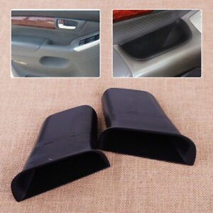 2x Front Door L r Storage Box Bin Fit For Toyota Land Cruiser Prado J120 2004 09