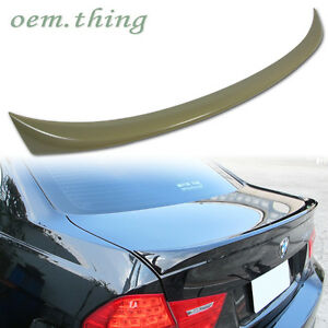 In Stock Usa Bmw E90 3 series Oe Rear Trunk Spoiler Wing Abs 320i 330i 320d