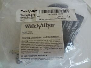 Welch Allyn Bp Cuff Inflation System Infant size 7 5082 222 1 New sealed