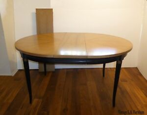Vintage Mid Century Modern Dining Table W 2 Leaves By American Of Martinsville