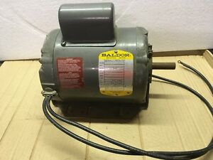 Baldor Industrial 1hp Motor Rpm 3450
