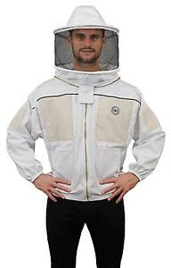 Humble Bee 330 xxl Ventilated Beekeeping Jacket With Round Veil