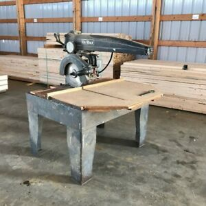Dewalt Model Ge Radial Arm Saw 5 Hp 240v 3 Phase Dewalt 16