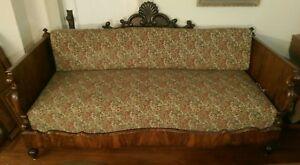 Empire Rosewood Daybed 19th Century Rococo Victorian Comfortable Sofa