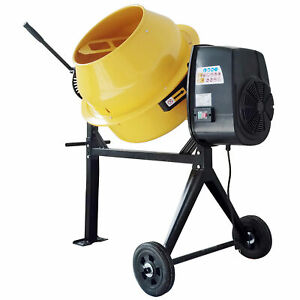 Pro series Cme35 3 5 Cubic Foot Electric Cement Mixer 180 Lb Dry Mix Capacity