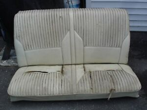 1968 1969 1970 1971 1972 Chevelle Ss 442 Gto Cutlass Gs Convertible Rear Seat Gm