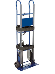 Premium Hand Truck Appliance Dolly Heavy Duty Steel Gauge With Stair Climbers