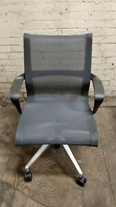 New Herman Miller Setu Task Office Chair Black Arms