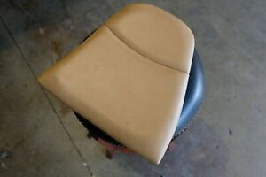 Porsche 911 993 Carrera Turbo Rear Seat Left Driver Side Tan Vinyl