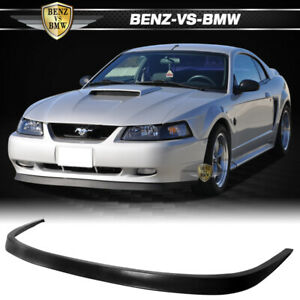 Fit 99 04 Ford Mustang Gt Svt Oe Style Front Bumper Lip Spoiler Bodykit Urethane