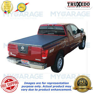 Truxedo For 1998 2004 Nissan Frontier Truxport Roll Up Tonneau Cover 283601