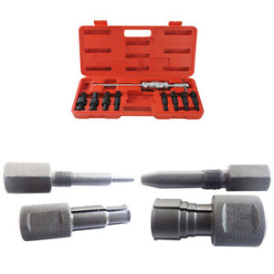 Set Slide Hammer Blind Hole Pilot Bearing Puller Removal Repair 9pc Us Free Ship