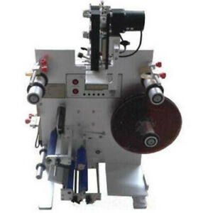 Ce Round Bottle Labeling Machine Labeler With Date Printer Coding Machine Sl 130