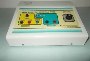 Spark Gap Skin Cautery Electrocautery Machine With Mini Electro Surgical Unit