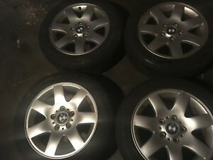 16 Inch 1 Set Of 4 Wheels And Tires Bmw 325i E36