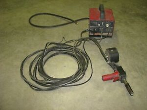 Lincoln Electric 9478 Magnum Sg Control Module And Spool Gun For Alum Welding