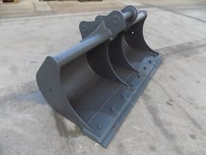 Miller 84inch 7ft Ditching Bucket With Blade On 80 Mm Pins free Uk Delivery Inc
